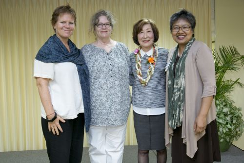 With the event planning team at my Kahala Nui presentation.