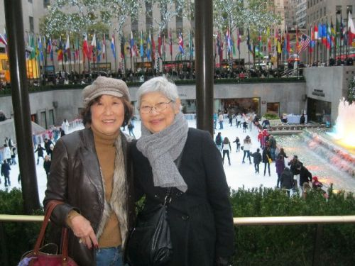 sets and me at Rock center